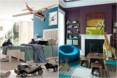 Интерьер комнат для малышей, который взрослеет вместе с ними