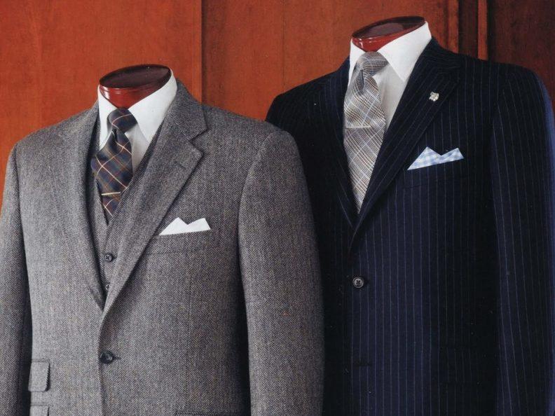 Актуальные фасоны мужских костюмов