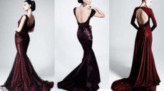 Платья с открытой спиной: как правильно подобрать модель?