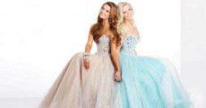 Бальное платье на выпускной 11 класс: пышные и нарядные модели