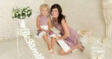 Одинаковые платья для мамы и дочки: шикарные повседневные и вечерние модели
