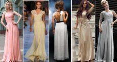 Платья греческого стиля: божественный образ для эффектной девушки