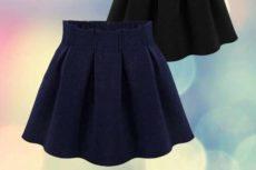 Юбки для девочек 10-13 лет: фасоны для школы