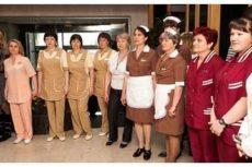 Униформа для горничных в гостинице: требования и функции