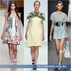 Платья из хлопка: более 70 фото моделей