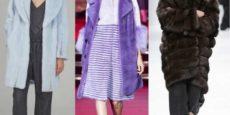Модные шубы из норки зима 2016-2017 фото
